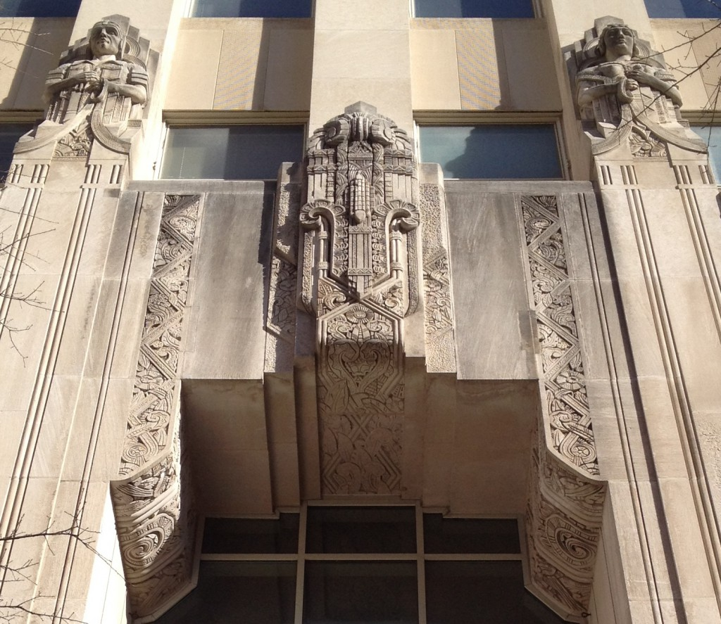 Southern Bell Telephone & Telegraph Building Entrance Detail - History Atlanta 2014