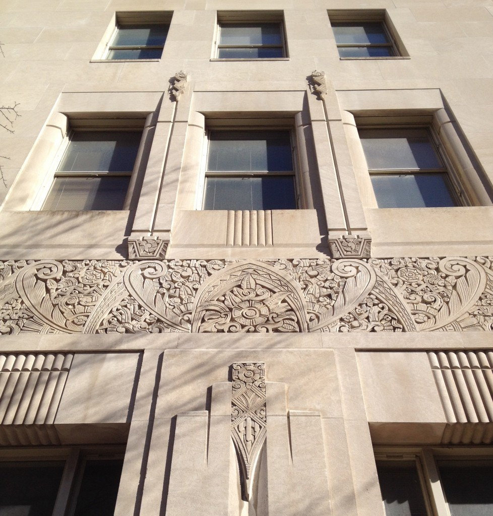 Southern Bell Telephone & Telegraph Building Windows Detail - History Atlanta 2014