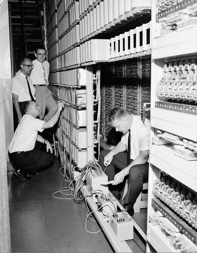 Technicians for Southern Bell Telephone & Telegraph Company on June 17th, 1964 - Georgia State University Library