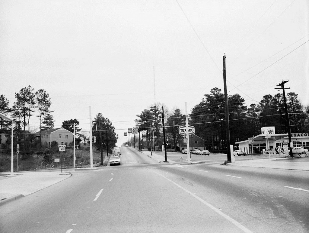 The Intersection of Wyman Street & Memorial Drive January 20th, 1966 - Georgia State University Library