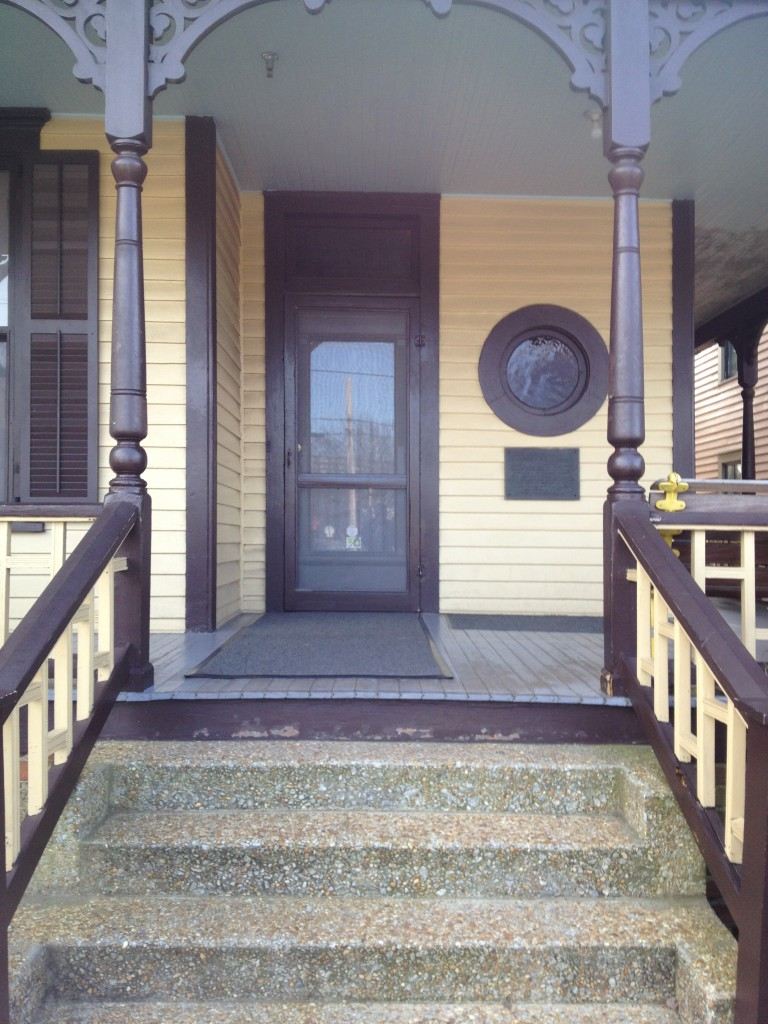 The Martin Luther King, Jr. Birth Home Front Porch - History Atlanta 2014