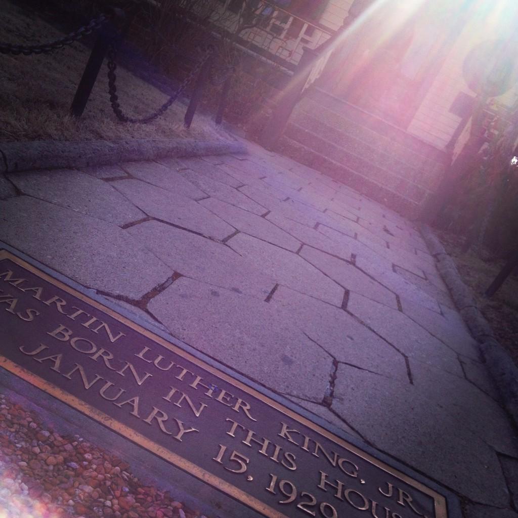 The Martin Luther King, Jr. Birth Home Front Walk - History Atlanta 2014