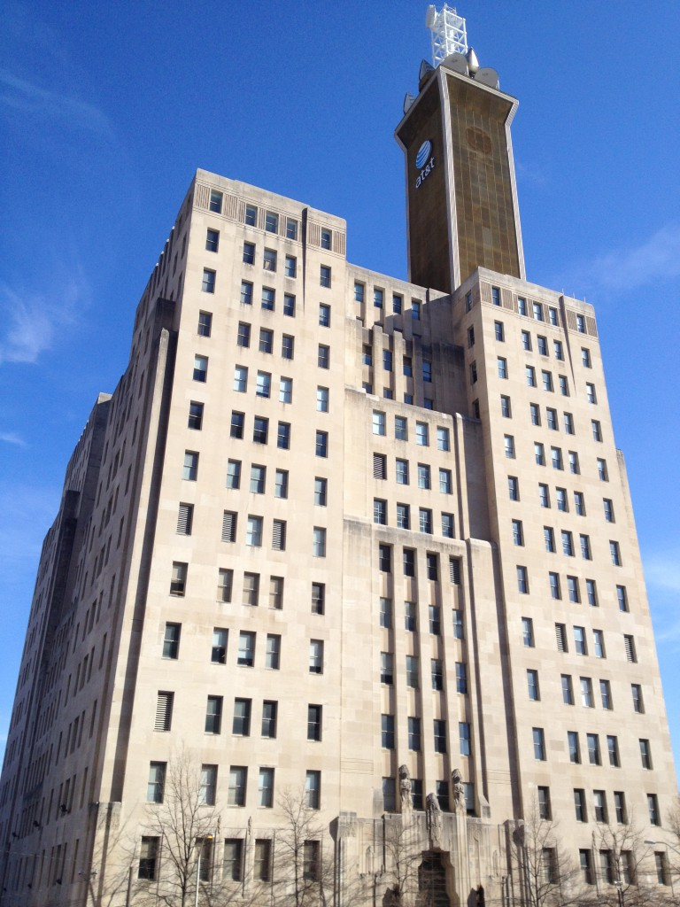 The Southern Bell Telephone & Telegraph now the AT&T Building in 2014 - History Atlanta 2014
