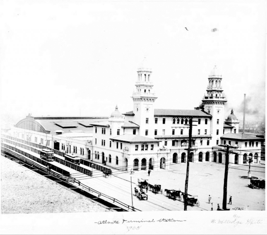 Atlanta's Terminal Station in 1905 - Georgia State University Library