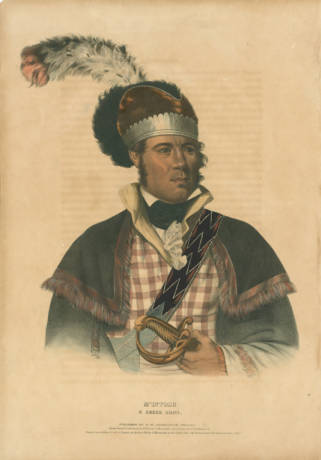 Chief William McIntosh - Alabama Dept. of Archives and History