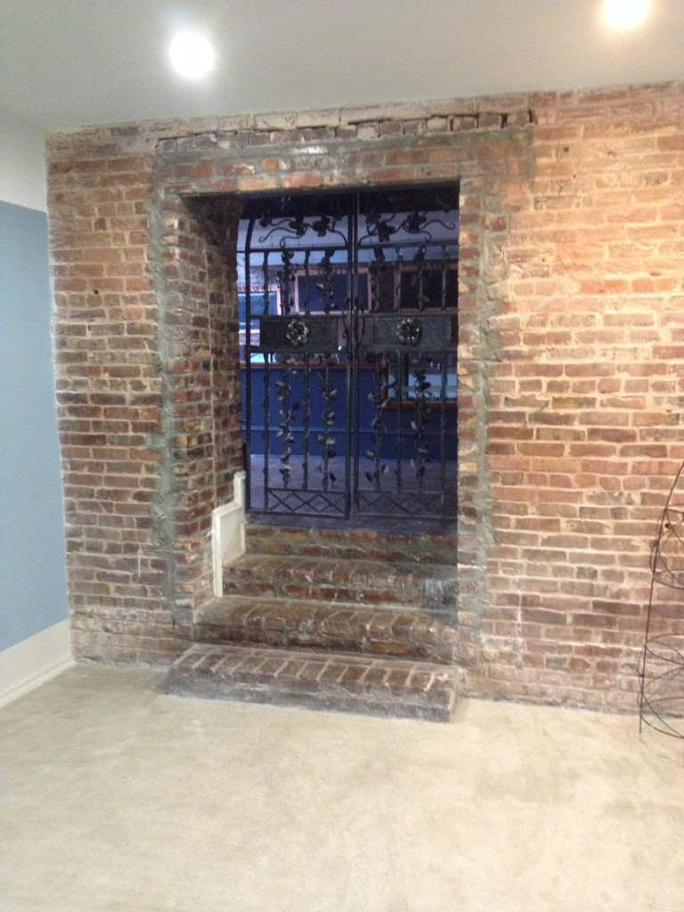 One of the Many Corridors Cut Between The Five Buildings - This One Cuts Between The Hunter Street Ell Building and the Copper Blue Building - History Atlanta 2014