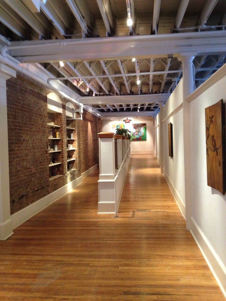 Renovated Space Inside the M. Rich Building - History Atlanta 2014