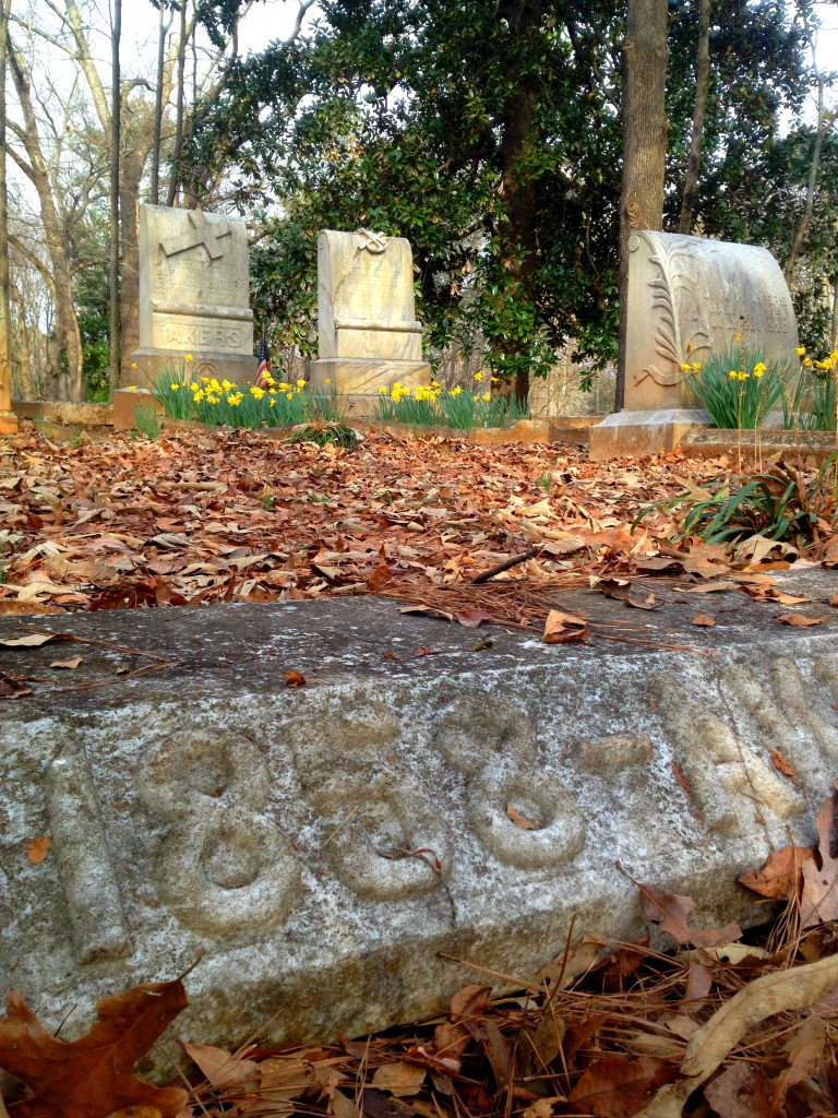 The Akers Family Plot in Sylvester Cemetery in East Atlanta - History Atlanta 2014