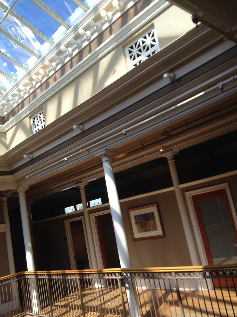 The Atrium Within The M. Rich Building - History Atlanta 2014