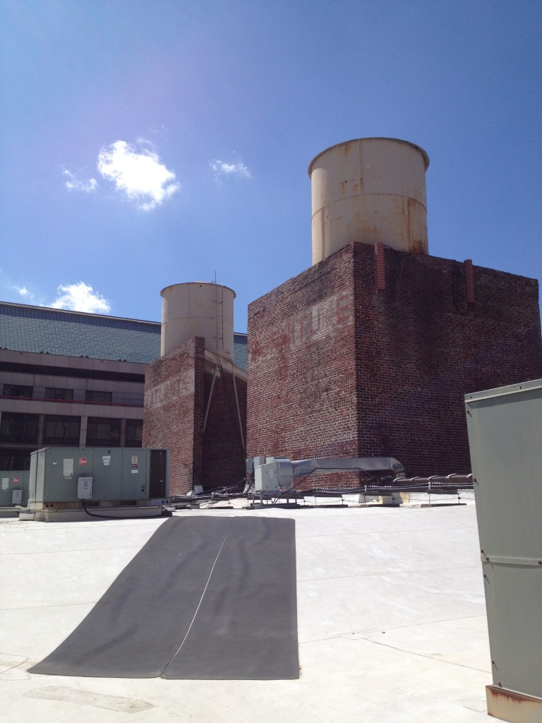 The Water Towers That Supplied The Fire System in The M. Rich Building - History Atlanta 2014