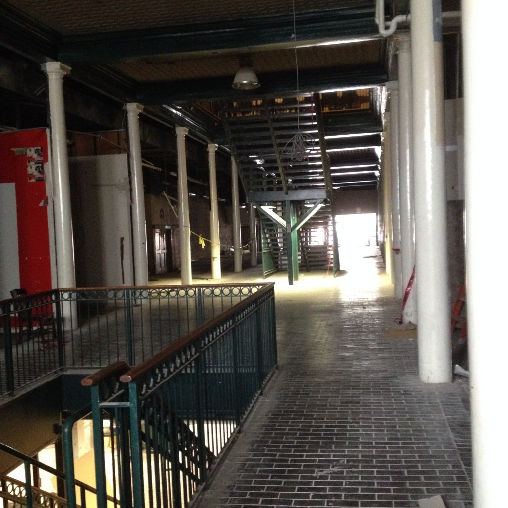 This Hall Was The Shopping Emporium at M. Rich Building Currently Under Renovation - History Atlanta 2014