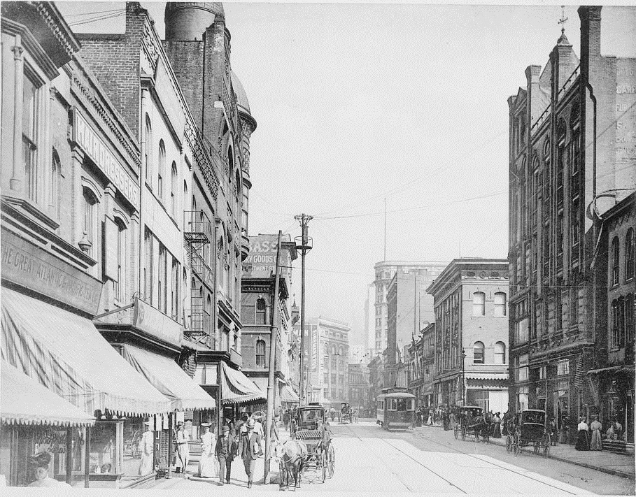 Whitehall Street Before 1907 - US Library of Congress