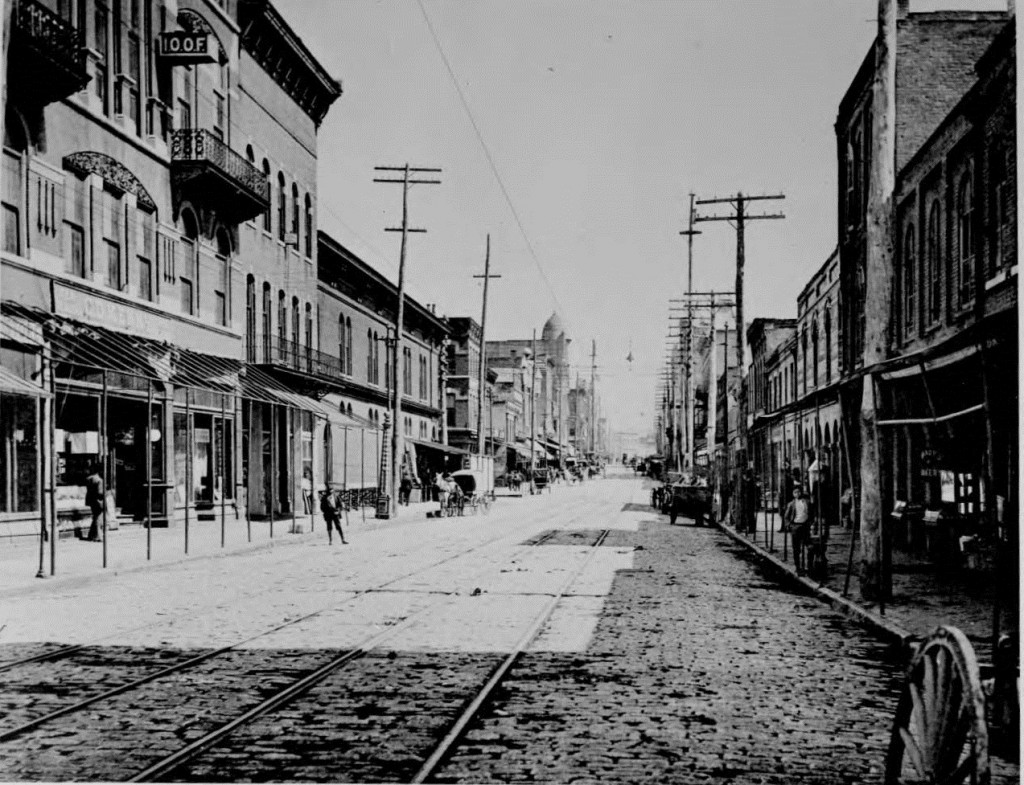 Whitehall Street in the 1890's - Georgia State University Library