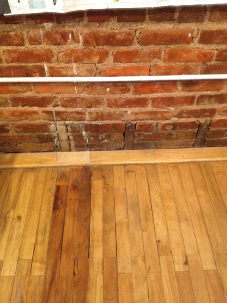 You Can See The Floor Was Once Higher Than It Currently Is Today - History Atlanta 2014