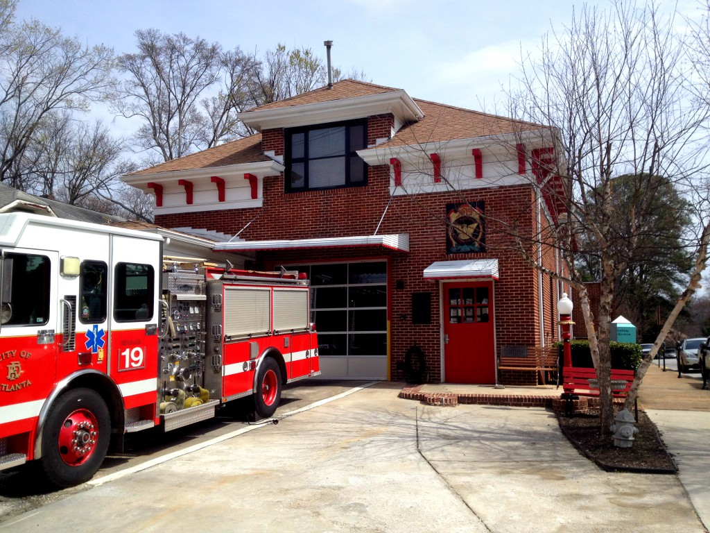 Atlanta Fire Station No. 19 in Operation Since 1924 - History Atlanta 2014