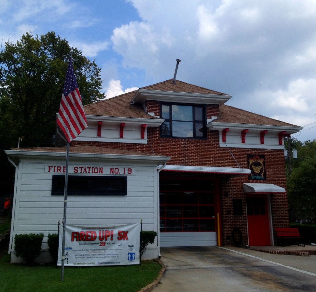 Atlanta Fire Station No. 19 is the Oldest Operating Fire Station in the City - History Atlanta 2014