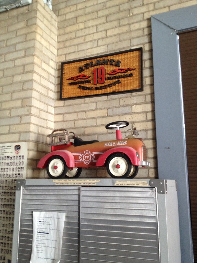 Old-School Cool Decorations in Atlanta Fire Station No. 19 - History Atlanta 2014