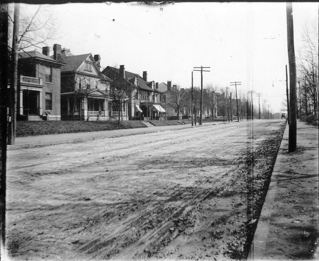 Piedmont Avenue looking South in an Undated Photograph - Georgia Archives