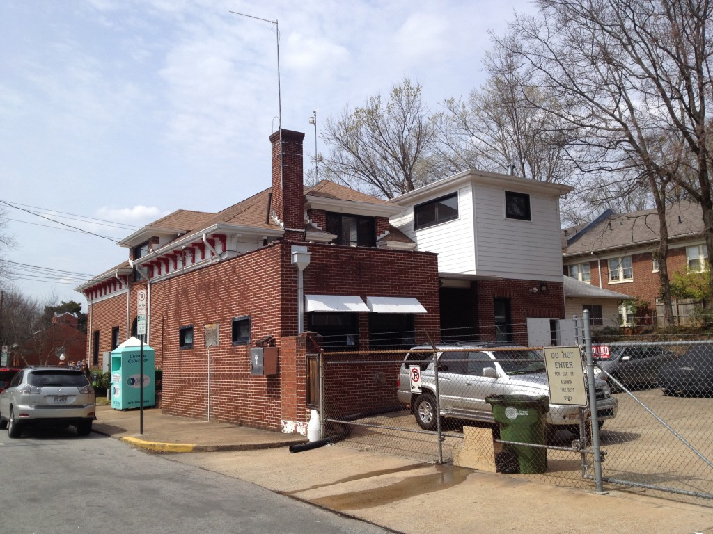 Rear of Atlanta Fire Station No. 19 - History Atlanta 2014