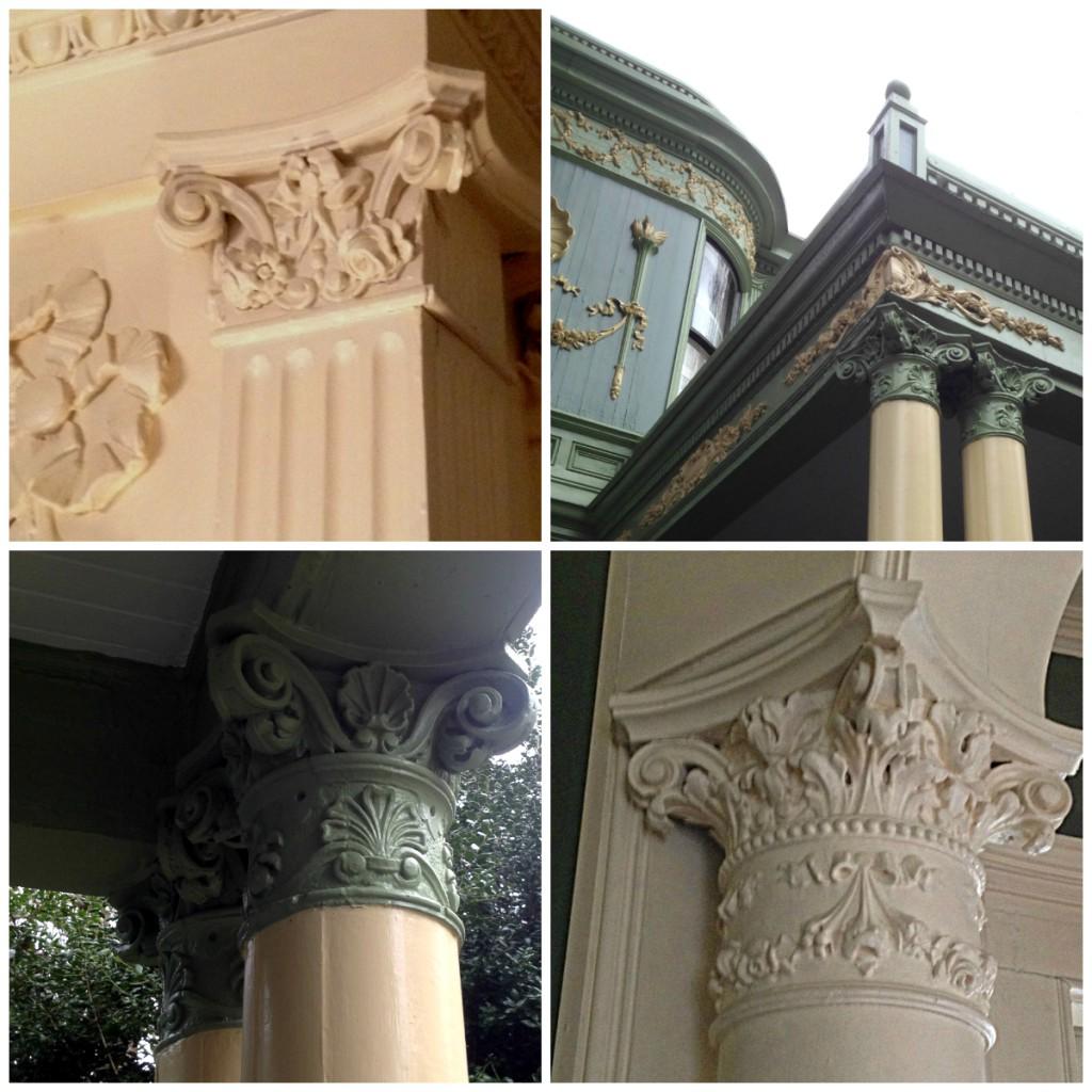 Shellmont Inn Columns - History Atlanta 2014