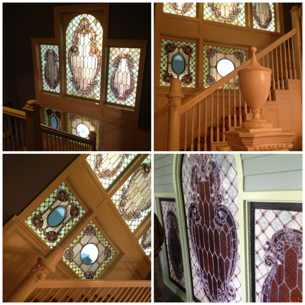 Shellmont Inn Tiffany Glass Collage - History Atlanta 2014