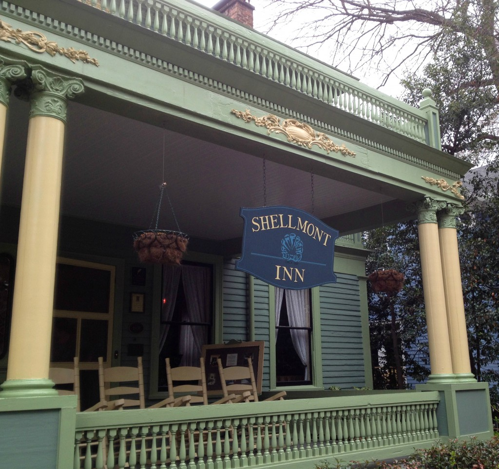 The Front Porch at the Shellmont Inn - History Atlanta 2014