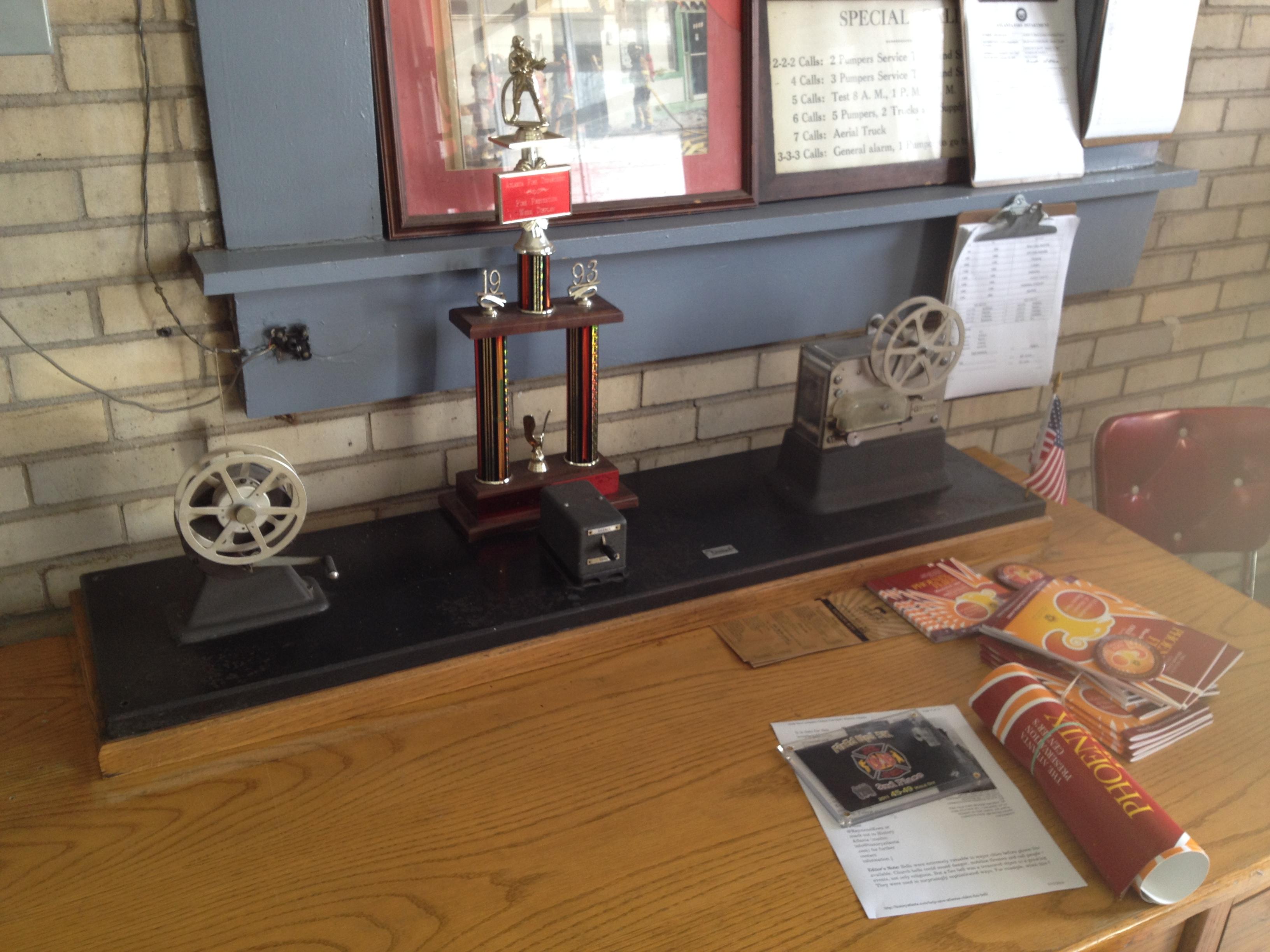 ... The Old Ticker At Atlanta Fire Station No. 19   History Atlanta 2014