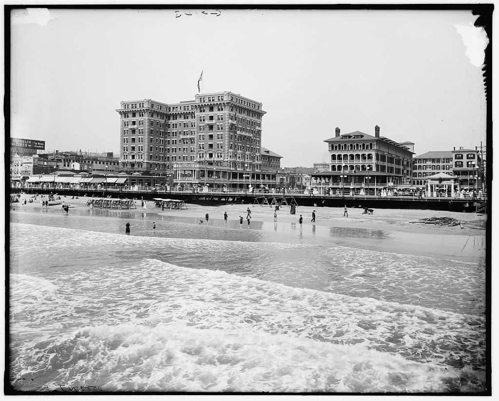 Chalfonte & Haddon Hall in Atlantic City sometime Between 1910 & 1920 - US Library of Congress