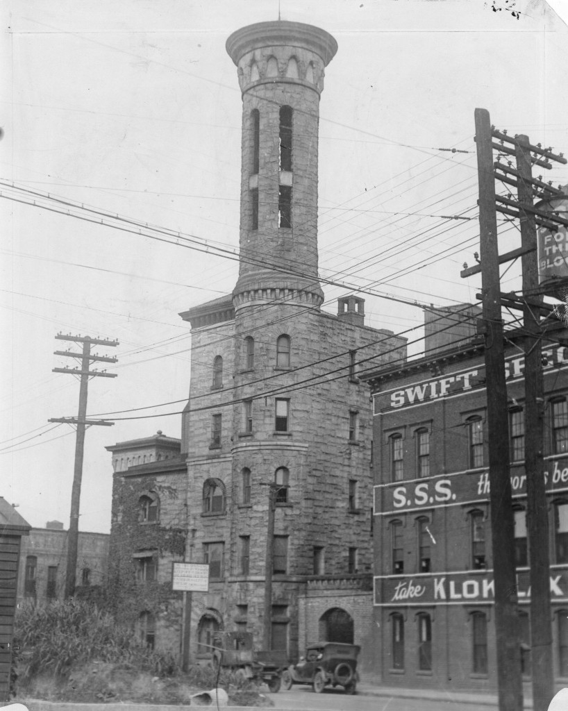 Fulton Tower Jail in the 1930s - Copyright Atlanta Journal-Constitution