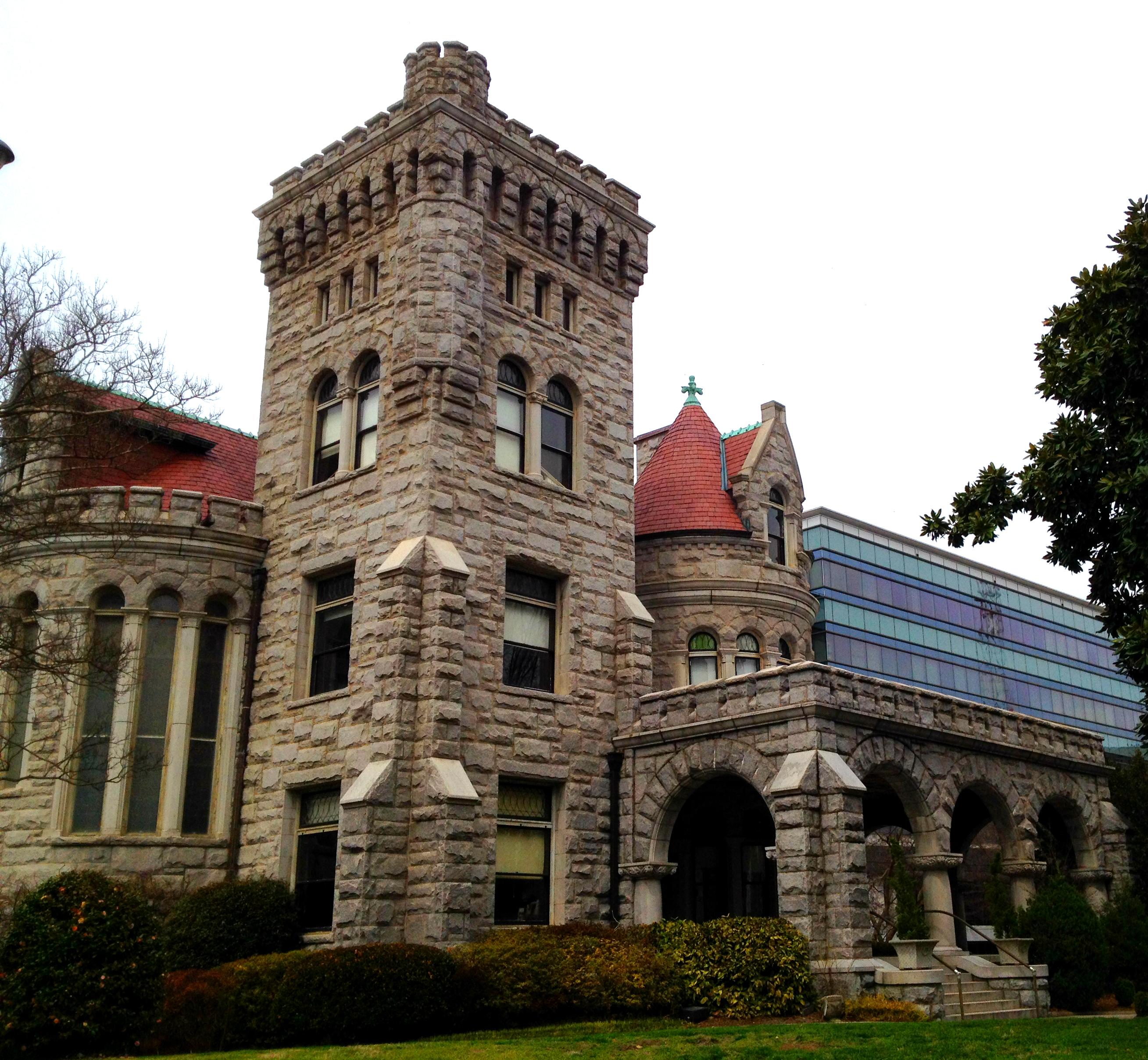 Rhodes Memorial Hall Built in 1904 on Peachtree Street in Midtown Atlanta - History Atlanta 2014