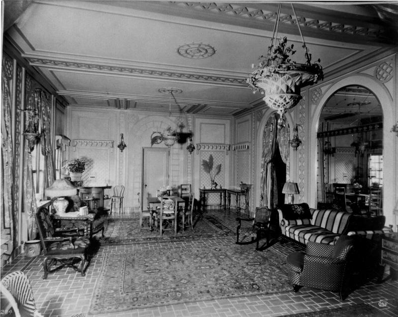 The Back Room of Rainbow Terrace - Photograph Courtesy of the Lullwater Estate
