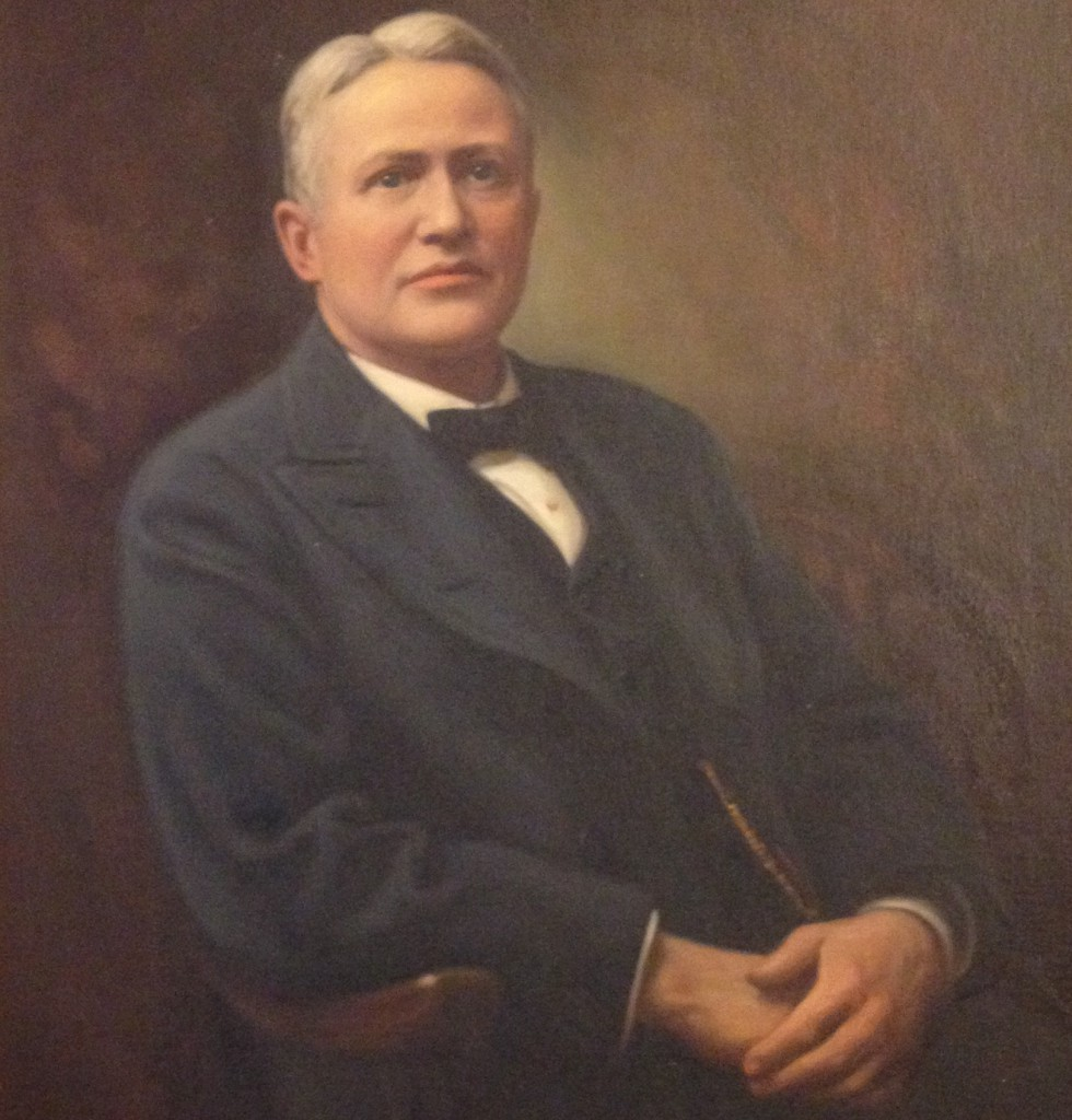 Amos Giles Rhodes, the Original Owner of Rhodes Memorial Hall