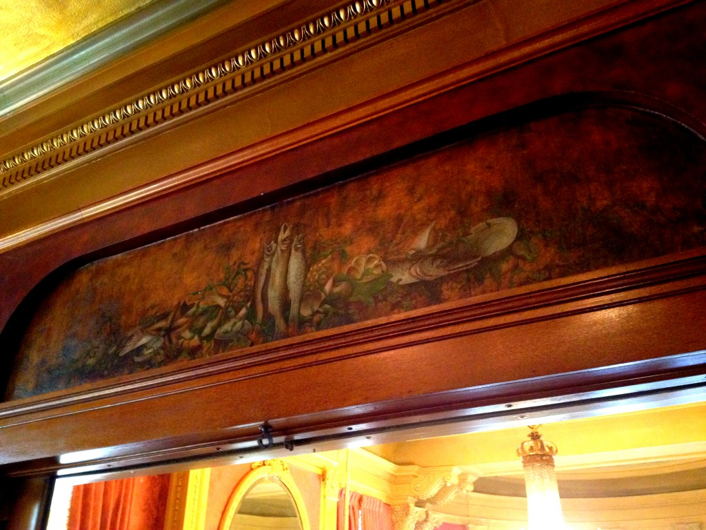 Hand Painted Murals can be Found Throughout Rhodes Hall - History Atlanta 2014