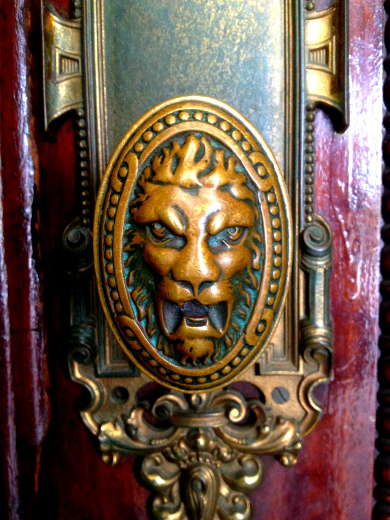 Intricate Details can be Found Throughout Rhodes Hall, such as This Lion Doorknob - History Atlanta 2014