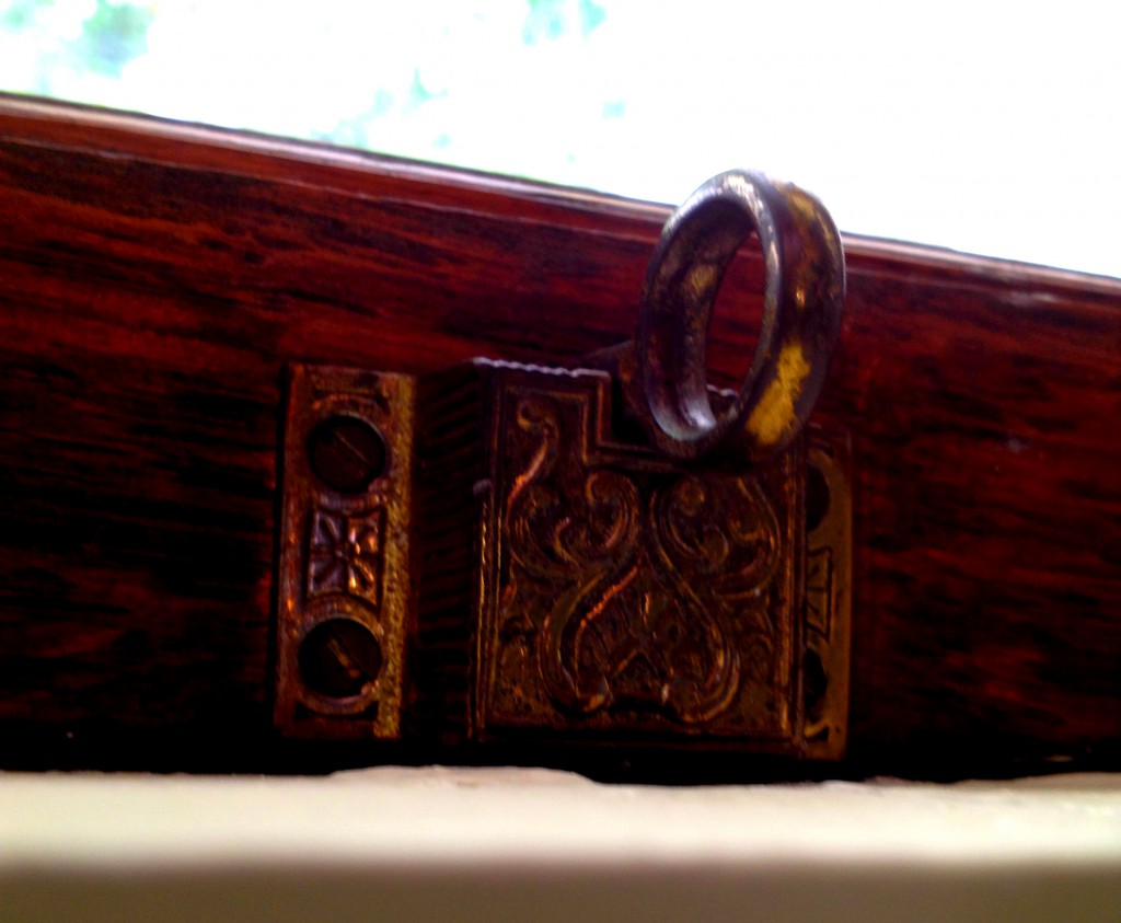 More Details at Rhodes Hall, This One a on a Window Latch - History Atlanta 2014