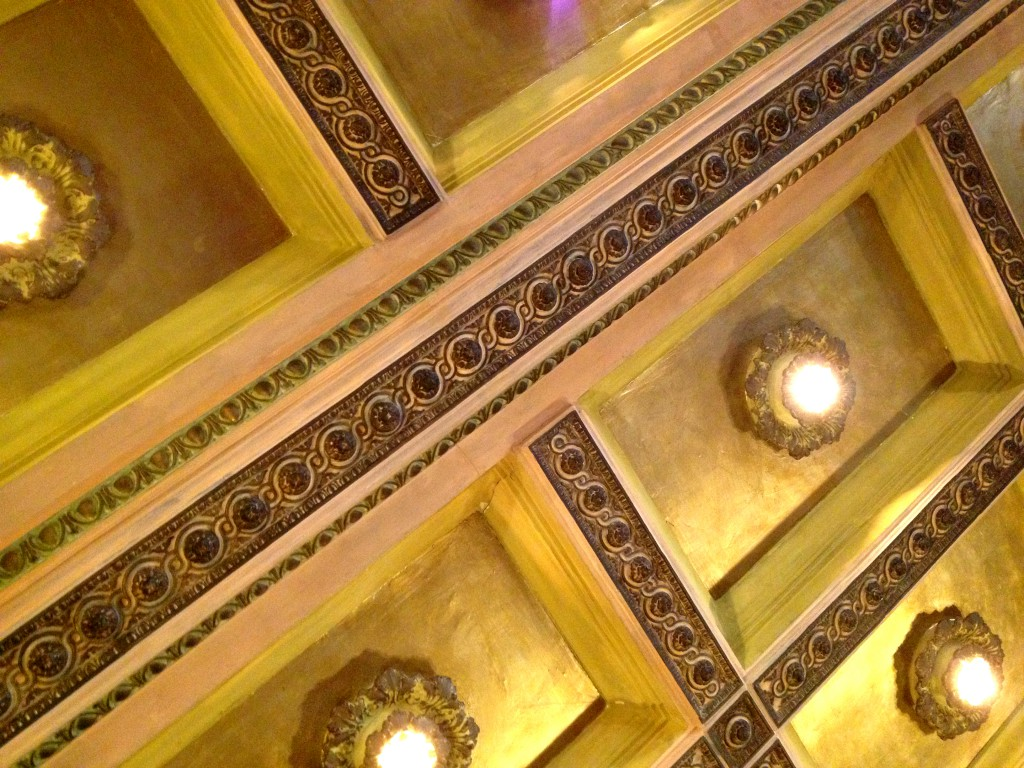 The Ceiling in The Main Room at Rhodes Hall - History Atlanta 2014