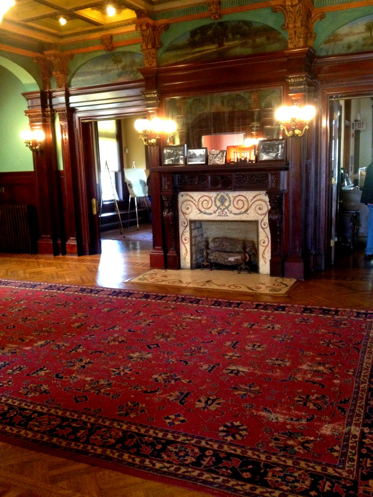 The Main Entrance Hall at Rhodes Hall - History Atlanta 2014