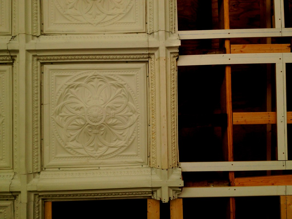 When History Atlanta Visited Rhodes Hall the Porch Ceiling was Under Renovation - History Atlanta 2014