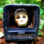 A Doll Head in a Old Television - Constitution Lakes Park - History Atlanta 2014
