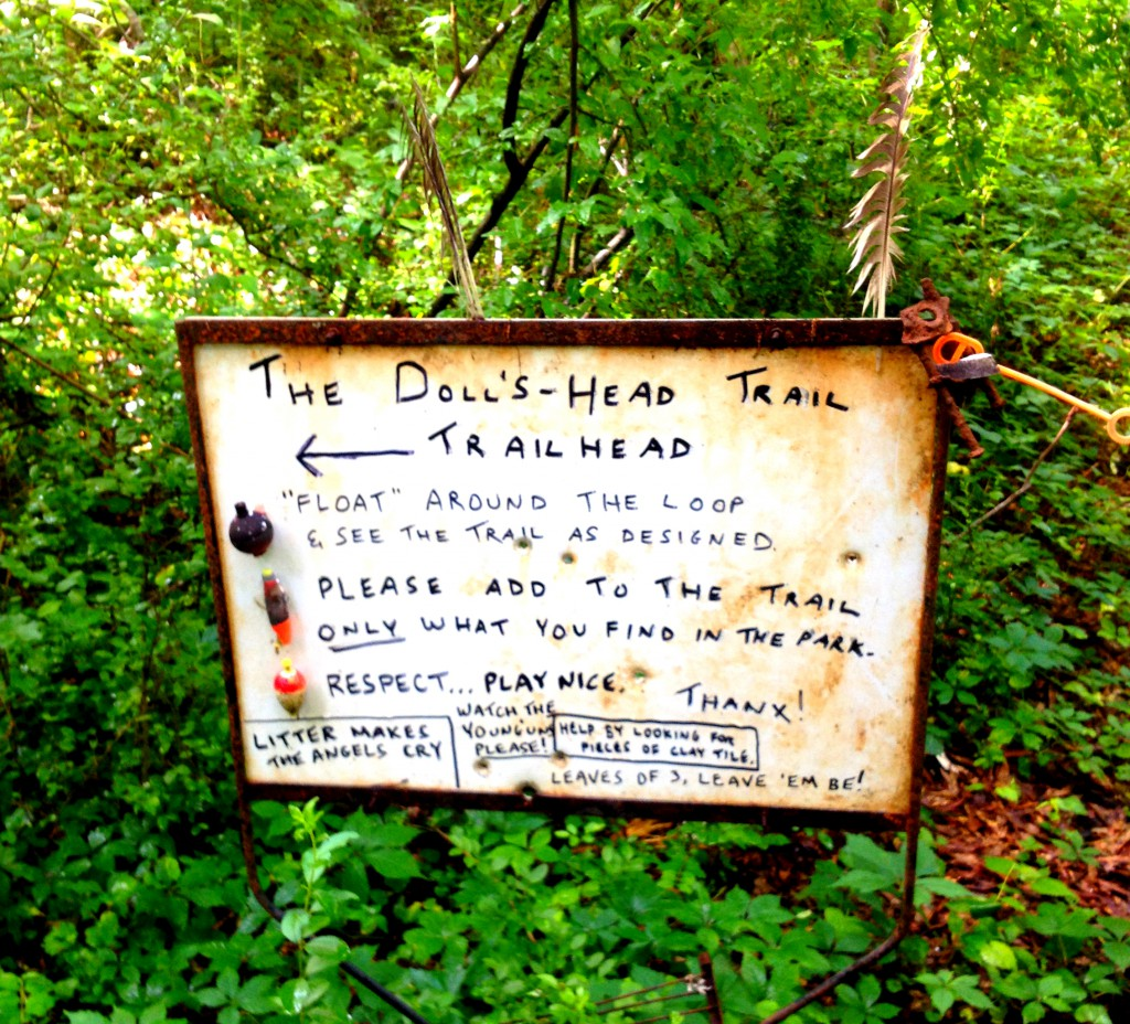 Doll's Head Trail at Constitution Lakes Park - History Atlanta 2014