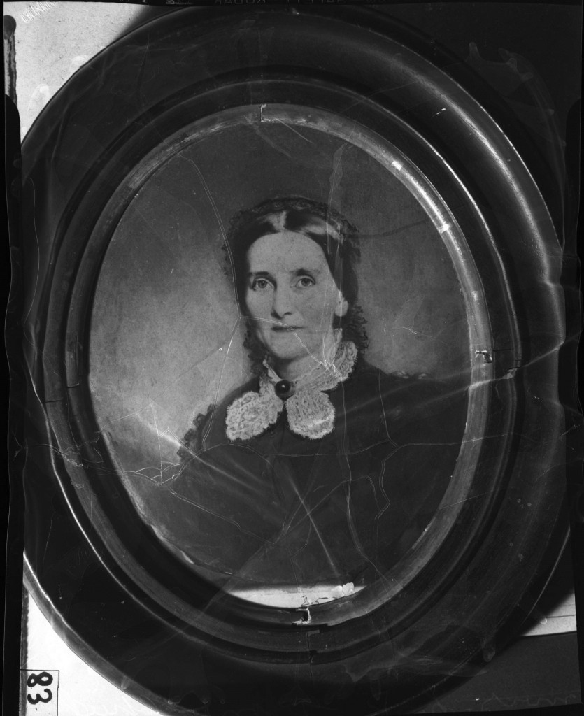 Laura Loomis Williams Grant sometime in the 1870's - She was Born in 1820 and Died in 1879 - Georgia State University Library