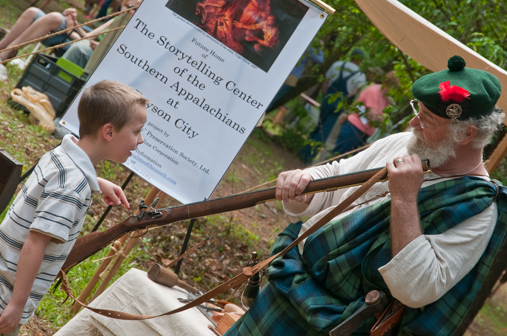 The Fort Daniel Frontier Faire - Photograph by Robert Coffey