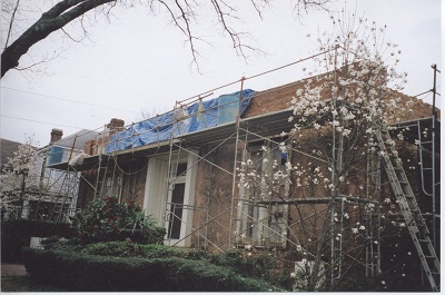 The Grant Mansion under Renovation in 2006 - Atlanta Preservation Center