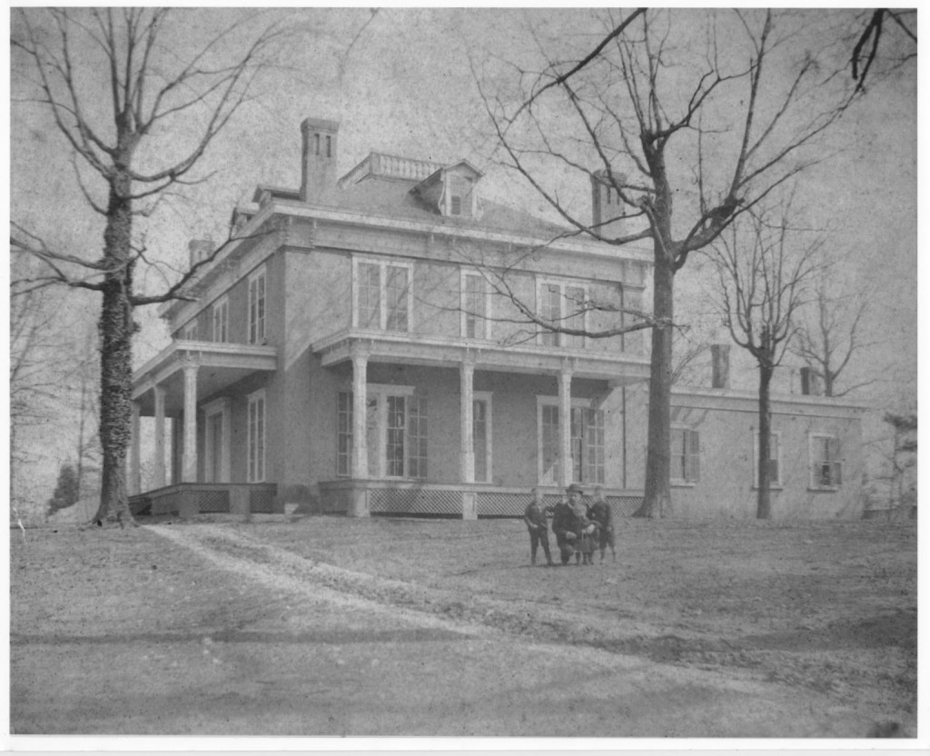 The L.P. Grant Mansion in 1900 - Atlanta Preservation Center