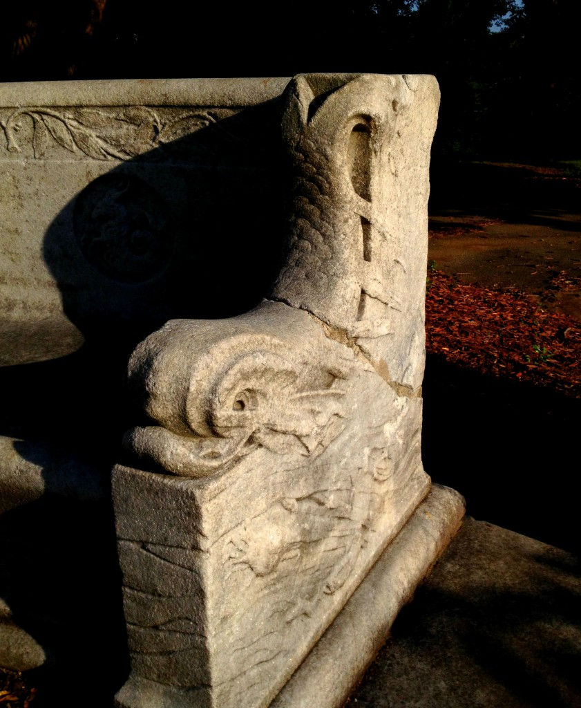 The Bench of the Erskine Memorial Fountain - History Atlanta 2014
