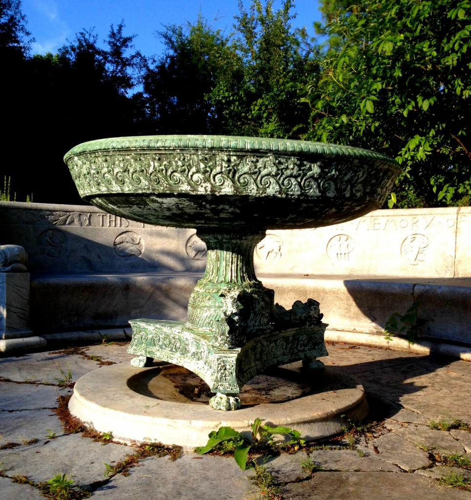 The Erskine Memorial Fountain is Falling Apart - History Atlanta 2014