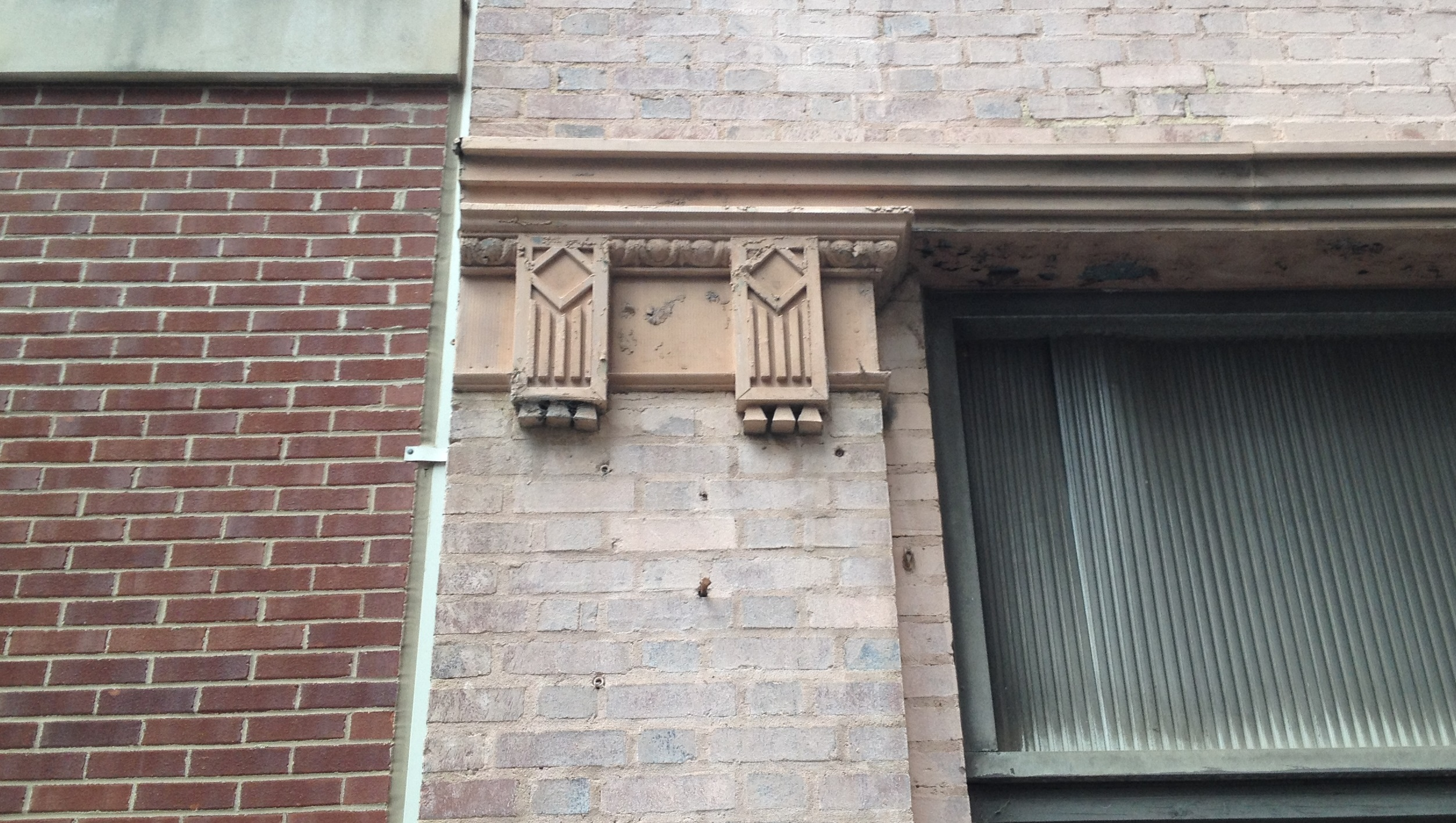 Architectural Details Abound on the Switchyards Building, formerly The Atlanta Legal Aid Society - History Atlanta 2014