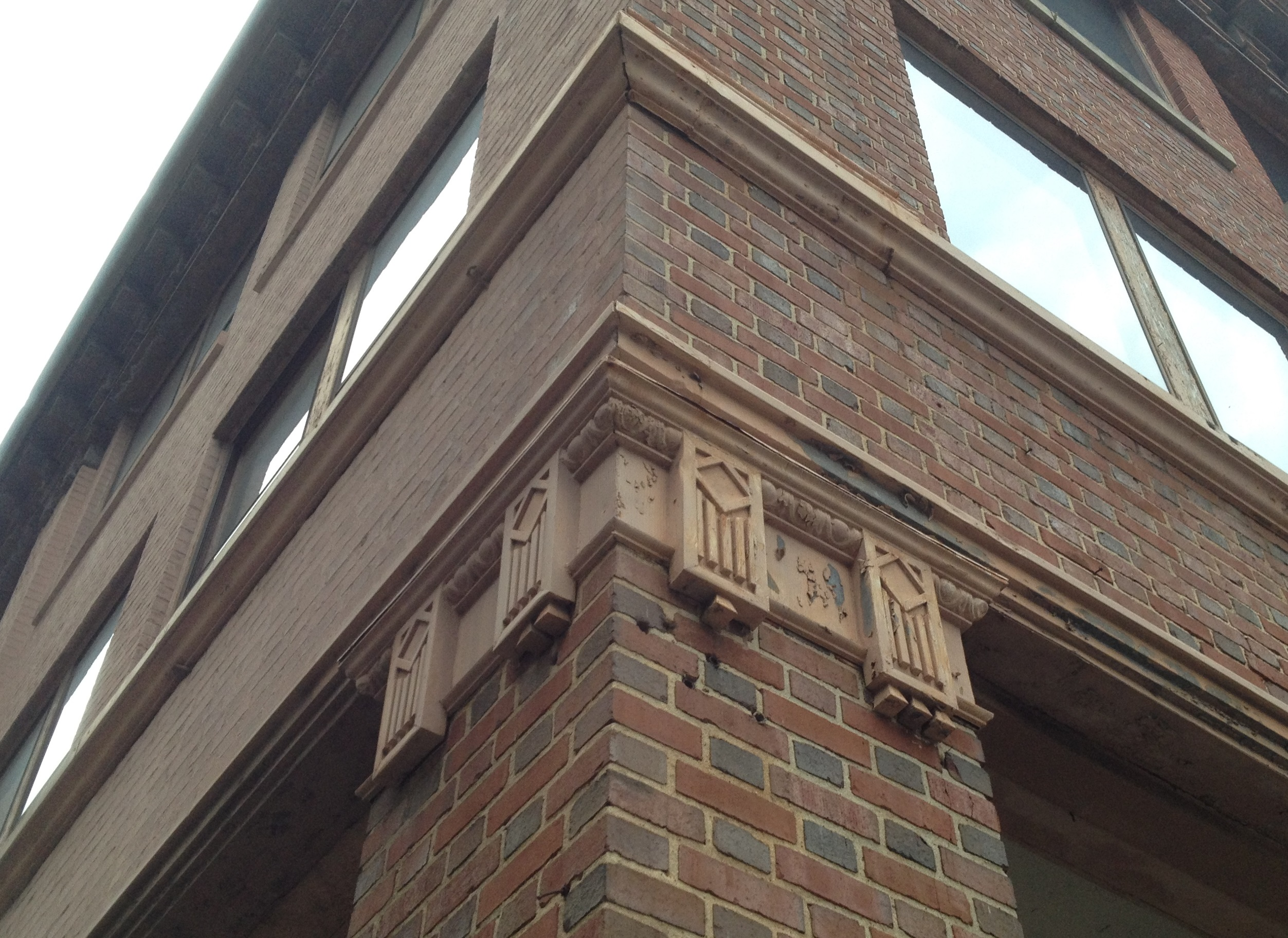 Architectural Details at 151 Spring Street, the New Switchyards Building - History Atlanta 2014
