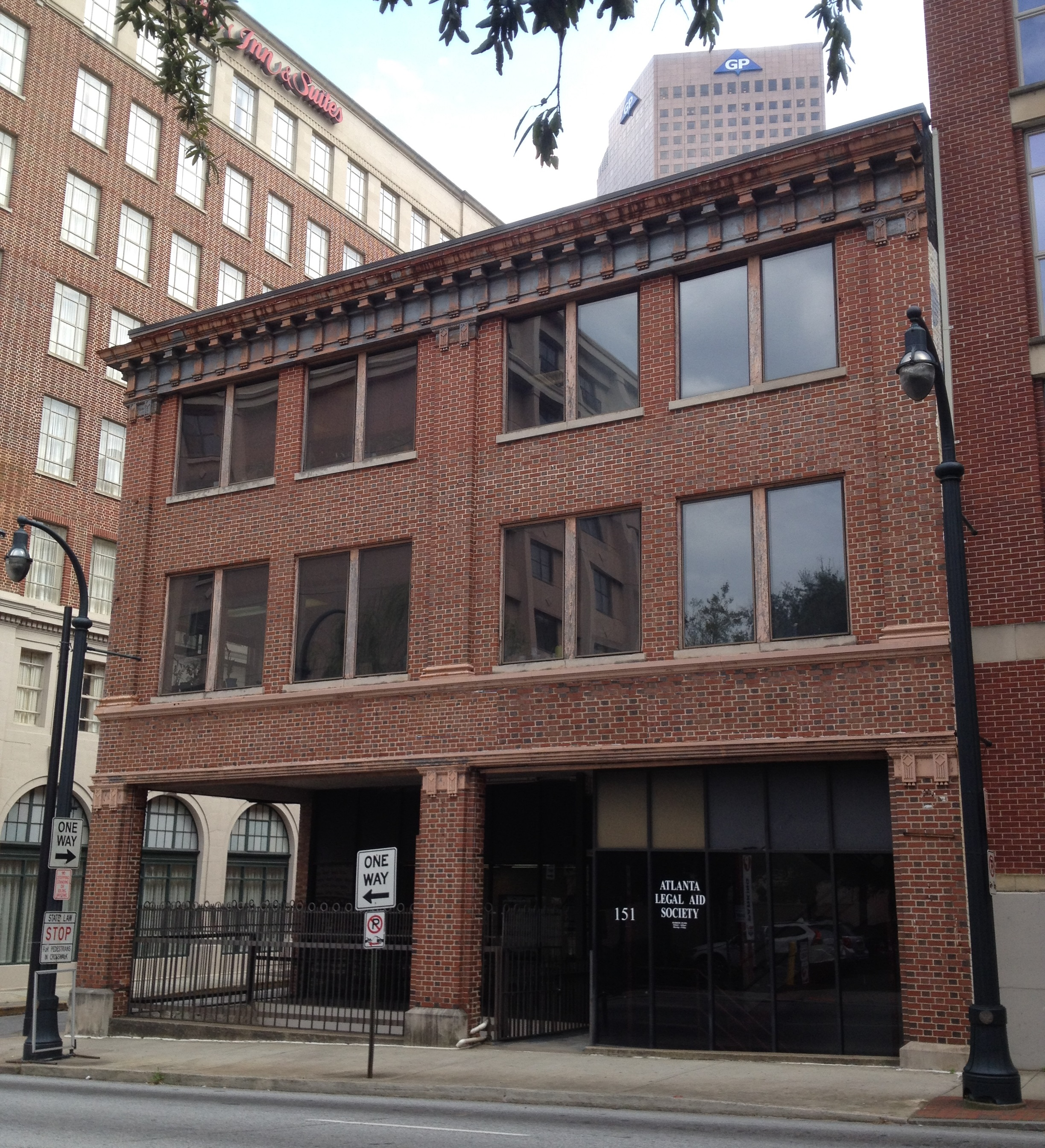 The Switchyards Building at 151 Spring Street in Downtown Atlanta - History Atlanta 2014