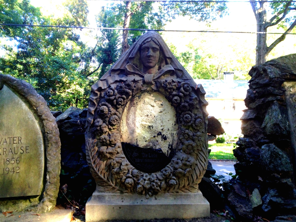 A Krause Headstone from Harmony Grove Cemetery - History Atlanta 2014